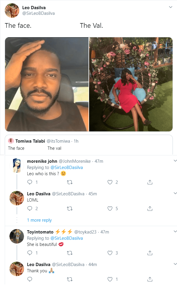 BBNaija star Leo Dasilva shows off the love of his life ahead of Valentine