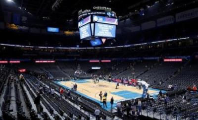 Chesapeake Energy Arena in Oklahoma City, 11 March 2020