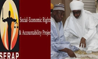 FG, Kano government dragged to UN over continuous detention of deposed Emir of Kano, Sanusi Lamido Sanusi