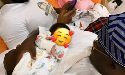 Bam Bam shows her daughter being doted on by her dad Teddy A and granddad (photos/video)
