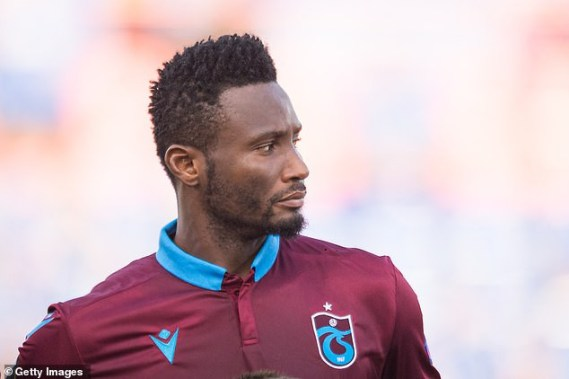 Mikel Obi opens up on his meeting with Trabzonspor president before his contract was terminated