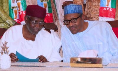 President Buhari tests Negative to Coronavirus as his Chief of Staff, Abba Kyari, tests positive