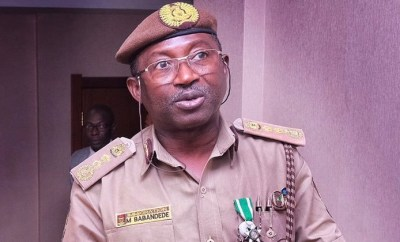 Comptroller-General of Nigeria Immigration Service tests positive for coronavirus