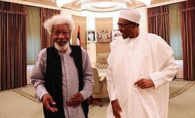 Coronavirus: Buhari woke from a prolonged siesta to issue lockdown orders which is illegal - Soyinka