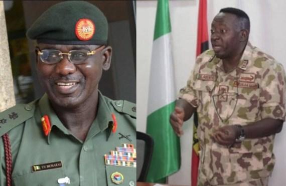 Buratai praises General Adeniyi for