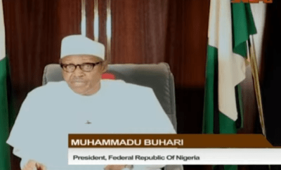 President Buhari extends lockdown in Lagos, FCT and Ogun by one week. To end May 4th
