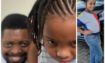 Comedian, Basketmouth celebrates his first daughter, Amy, on her birthday