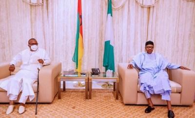President Buhari receives Madagascar