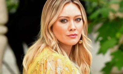 Actress Hilary Duff shuts down