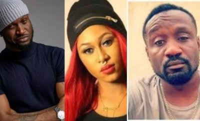 You rejected the contract I gave you because they made you see me like the bad egg - Peter Okoye reminds Cynthia Morgan after she narrated