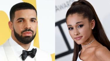 Drake and Ariana Grande