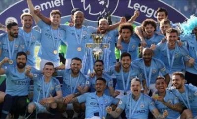 Manchester City won the Premier League title in 2018-19