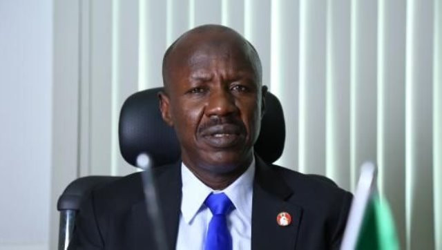 EFCC acting chairman, Ibrahim Magu reportedly detained after he was drilled by the presidential investigation panel
