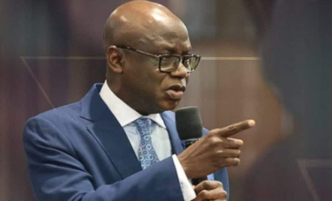 Pastor Tunde Bakare kicks against reopening of churches
