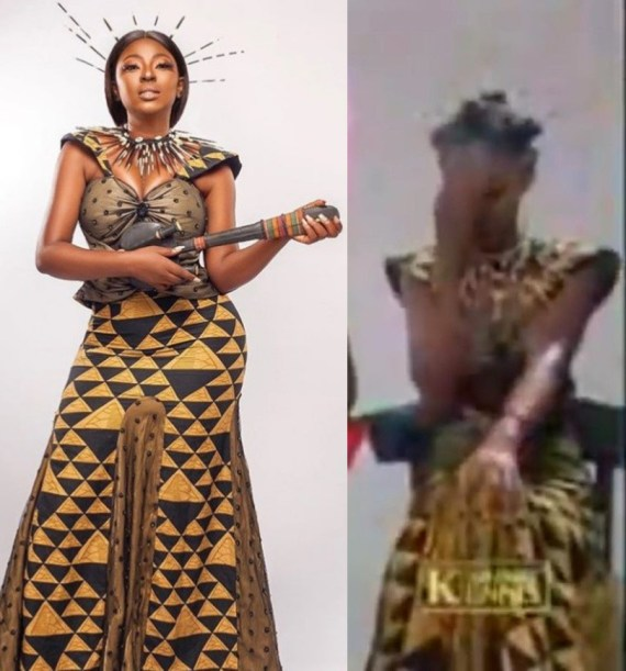 Yvonne Jegede recreates the look she wore for Tuface Idibia