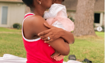 Singer, Simi gushes over her daughter Adejare in new adorable photos