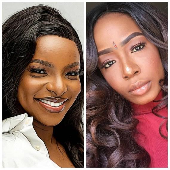 TolaniBaj and Wathoni evicted from the Big Brother Naija house