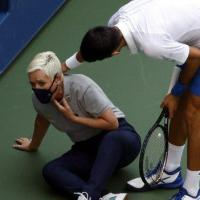US Open 2020: Novak Djokovic Defaulted After Hitting Ball At Line Judge