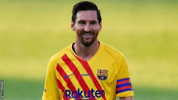 Lionel Messi made his first appearance for Barcelona since his failed attempt to leave the club last week, playing in their friendly with Gimnastic de Tarragona