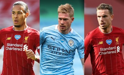 Jordan Henderson, De Bruyne, Van Dijk and others make PFA Player of the Year shortlist
