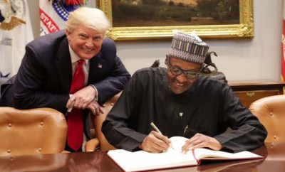 When i was alone with Trump in the White House he asked me why are you killing Christians? - President Buhari