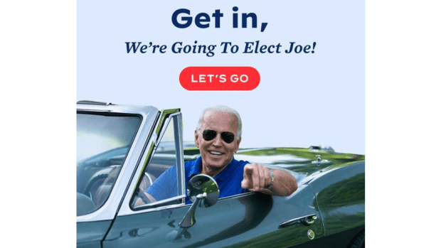 A Biden get out the vote ad