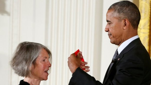 Louise Gluck and President Obama