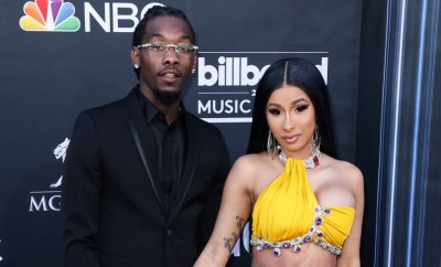 Offset reacts to Cardi B