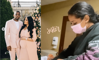 Rapper, Fabolous and longtime girlfriend Emily Bustamante welcome their third child, a baby girl