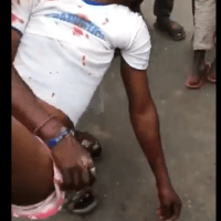 Two Feared Killed, Others Injured As SUV Rams into #EndSARS Protesters in Lagos [Graphic Video]