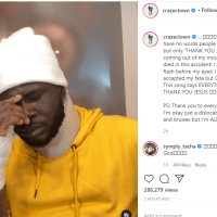 Somebody Died in This Accident - Craze Clown Opens Up On Fatal Accident He Was involved in