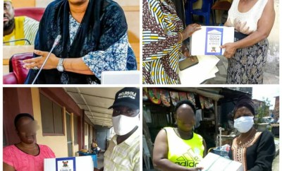 """""""Taking home billions and leaving crumbs for the masses"""" - Nigerians call out lawmaker, Moji Alli-Macaulay. for giving out COVID-19 palliatives to her constituents on Mothers day (photos)"""