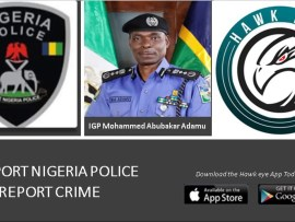 Hawk Eye Global Crime Reporter Is Not Police VGS – Eyes Of Lagos