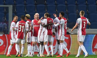 "11 Ajax players ""test"" positive for coronavirus ahead of Champions League fixture with FC Midtjylland"