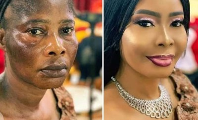 Wow! Check out this unbelievable makeup transformation