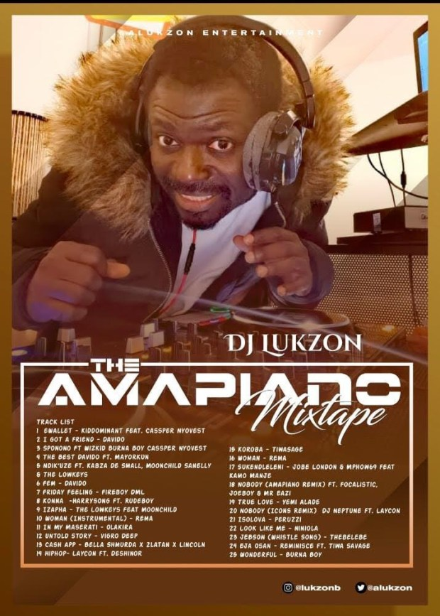 MIXTAPE: DJ Lukzon - The Amapiano (Mix) - Akpraise.com
