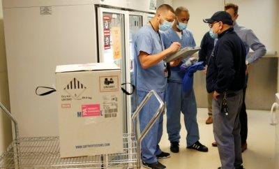 Vaccines delivered in Boston, Massachusetts