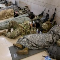 National Guard: President Biden Apologises Over Troops Sleeping in Car Park