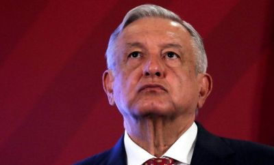 File photo of Mexico's President Andres Manuel Lopez Obrador