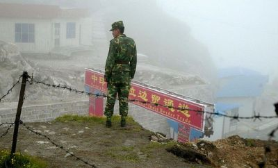 File image of the border area in north Sikkim