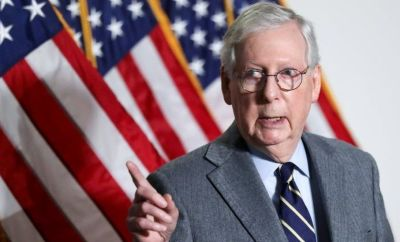 Senate Minority Leader Mitch McConnell. Photo: 26 January 2021