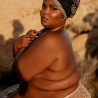 Lizzo Poses in Only Her Panties [Photos]