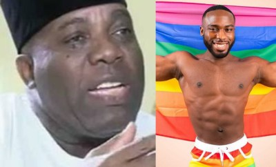 I am vehemently opposed to homosexuality,  I see a major spiritual challenge - Doyin Okupe says after his son came out as gay