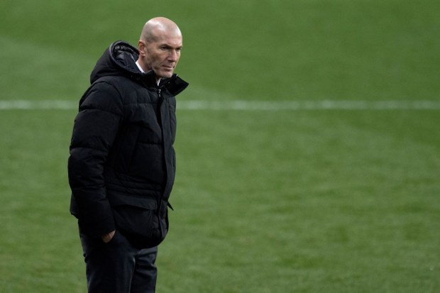 Real Madrid manager, Zinedine Zidane tests positive for COVID-19