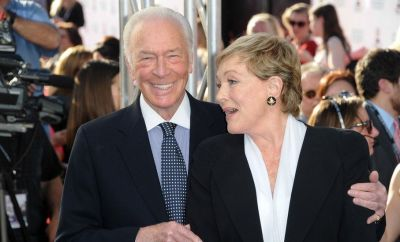 Images shows actor Christopher Plummer and actress Dame Julie Andrews