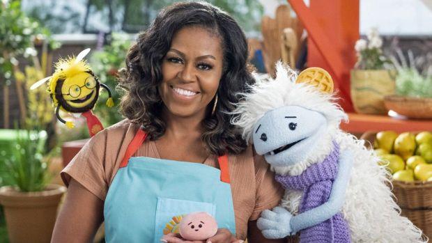 Michelle Obama in Waffles + Mochi