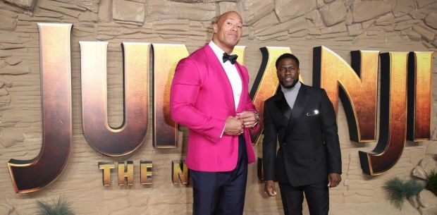 Kevin Hart and Dwayne Johnson