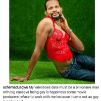 """I Am Proud To Be Gay"" - Uche Maduawgu Tells Victoria Inyama And Other Actors Against His Sexuality; Says He Knows 'What They Do in Secret' [Video]"