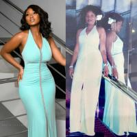 Omotola's Daughter Meraiah Ekeinde Shares Interesting Story Behind Dress She Rocked For Her 21st Birthday