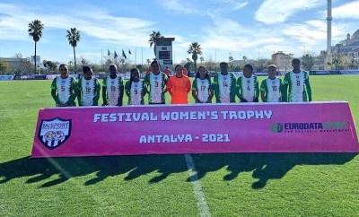 Super Falcons of Nigeria thrash Equitorial Guinea 9-0 to win Turkish Women?s Cup (photos)